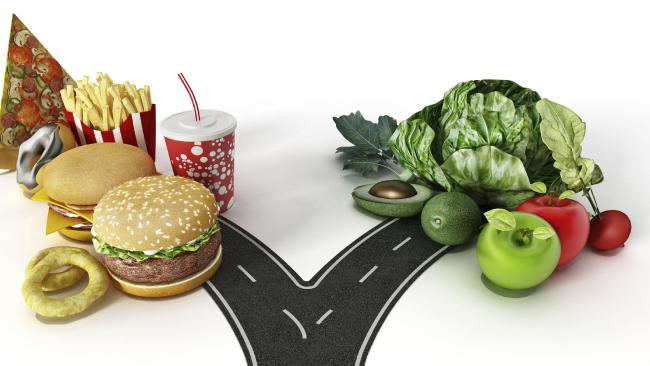 Vegetables Vs Fast Food
